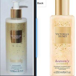 Victoria Secret Heavenly Fragrance Mist And Lotio